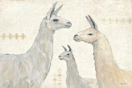 Llama Land IV by Avery Tillmon art print