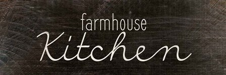 Farmhouse Kitchen by Kimberly Allen art print
