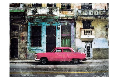 Parked In Havan by Milli Villa art print