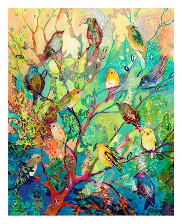 I Am the Place of Refuge by Jennifer Lommers art print