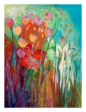 I am the Grassy Meadow by Jennifer Lommers art print