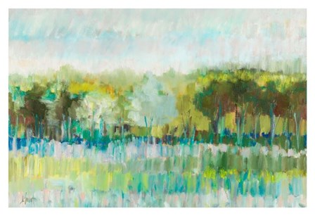 Row of Trees by Libby Smart art print