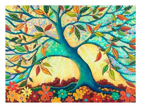 Tree Splendor I by Peggy Davis art print
