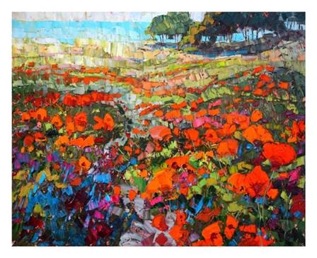 Poppies by Robert Moore art print
