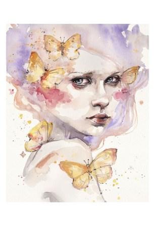 All a Flutter by Sillier than Sally art print