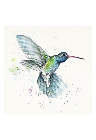 Hummingbird Flurry by Sillier than Sally art print