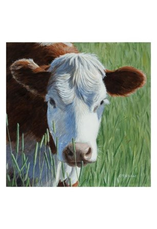 Moo by Terry Isaac art print