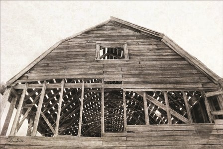 Wyoming Barn by Lori Deiter art print