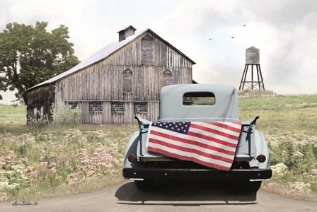 American Tailgating by Lori Deiter art print