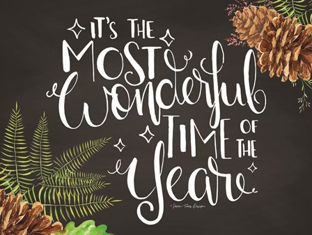 Wonderful Time of the Year by Seven Trees Design art print