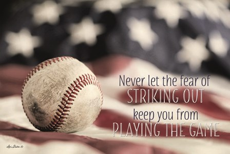 Baseball - Playing the Game by Lori Deiter art print