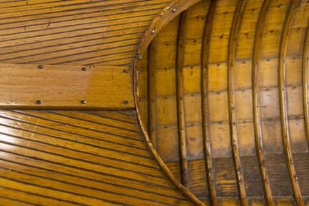 Vintage wooden Canoe Detail by Cindy Miller Hopkins / Danita Delimont art print