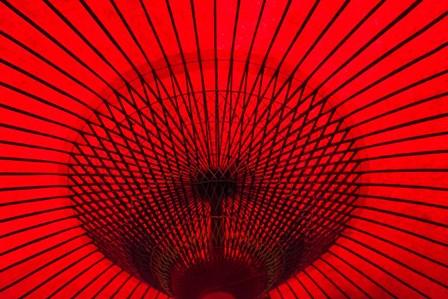 Red Umbrella, Gifu, Japan by Keren Su / Danita Delimont art print