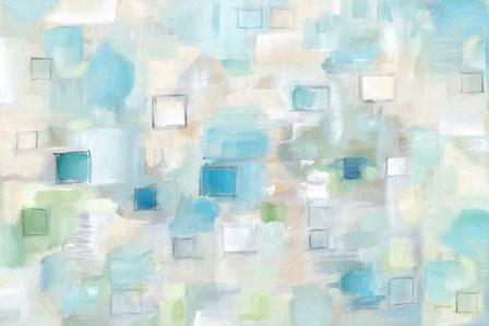 Grid Ensemble Landscape by Cynthia Coulter art print