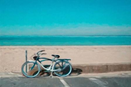 Bike to the Beach by Graffi*tee Studios art print