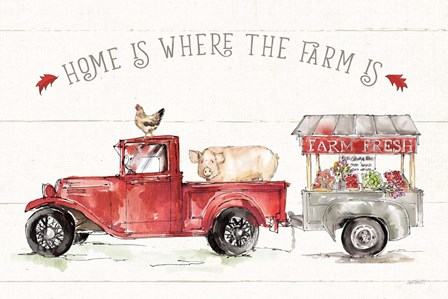 Country Life I by Anne Tavoletti art print