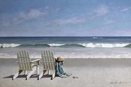 Tide Watching by Zhen-Huan Lu art print