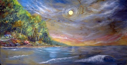 Cottage by Sarah Tiffany King art print