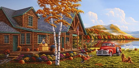 The Pleasures Of Fall by Geno Peoples art print