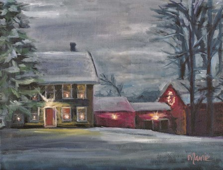 Sterling Hill Twilight by Marnie Bourque art print