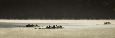 Dartmouth Women Rowing by Brenda Petrella Photography LLC art print