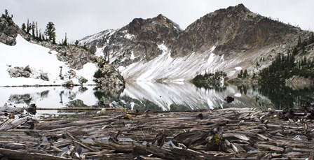 Sawtooth Lake by Brenda Petrella Photography LLC art print