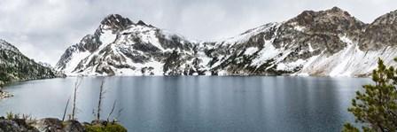 Soft Reflection On Sawtooth Lake by Brenda Petrella Photography LLC art print