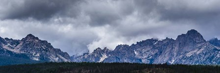 Stormy Peaks by Brenda Petrella Photography LLC art print