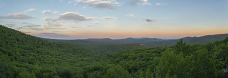 Sunset On Smarts Mountain by Brenda Petrella Photography LLC art print