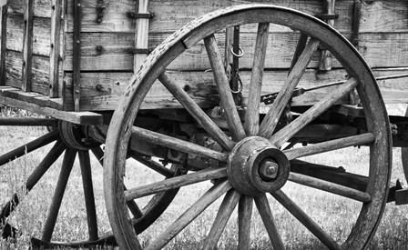 Wagon Wheel by Brenda Petrella Photography LLC art print