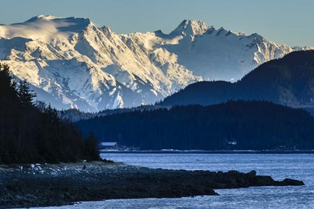 Where The Mountains Meet The Sea by Brenda Petrella Photography LLC art print