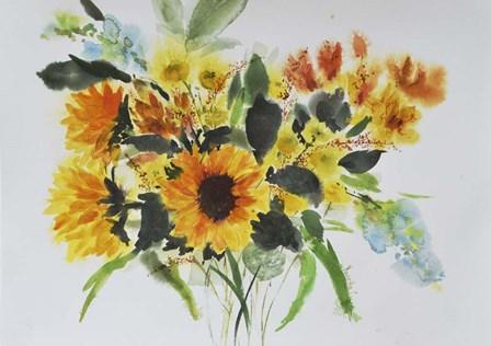 Sunflowers by Marietta Cohen art print