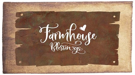 Farmhouse Blessings by Tara Moss art print