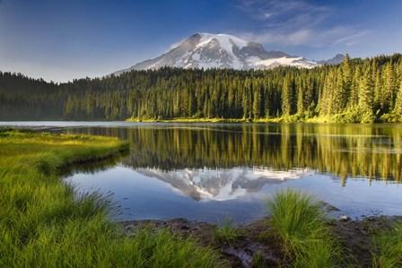 Reflection Lake Vista by Michael Blanchette Photography art print