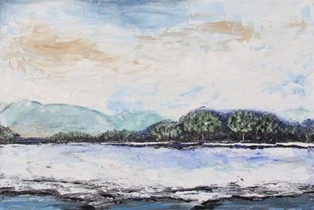 Serene Landscape by Jean Plout art print
