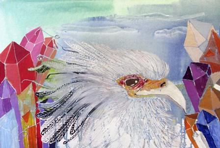 Mystic Secretary by Lauren Moss art print
