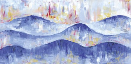 The Mountains Are Calling by Summer Tali Hilty art print