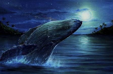 Moonlight Rhapsody by Greg Farrugia art print