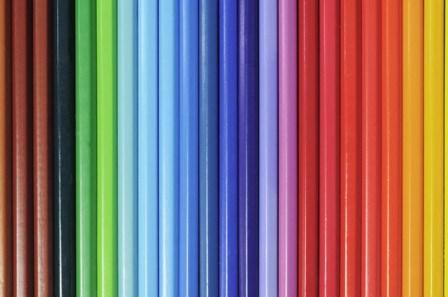 Coloured Pencils 1 by Tom Quartermaine art print