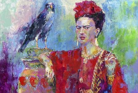 Frida Bird 1 by Richard Wallich art print
