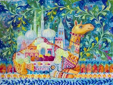Dromedary Camel by Oxana Zaika art print