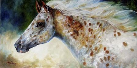 Appaloosa Spirit by Marcia Baldwin art print