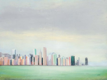 New York Skyline by Julia Purinton art print