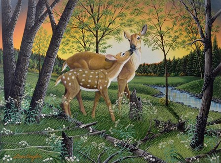 First Spring by Don Engler art print