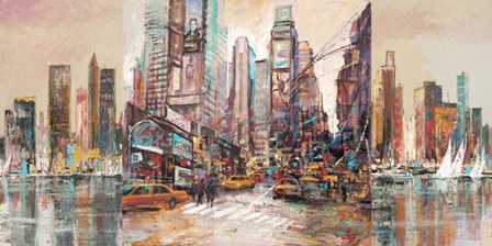 NYC 2 by Luigi Florio art print