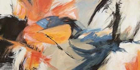 Oranges & Blues by Jim Stone art print