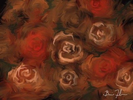 Bed of Roses by 5fishcreative art print