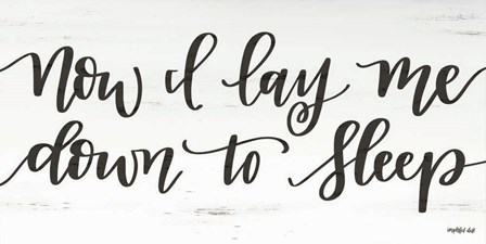 Now I Lay Me Down to Sleep by Imperfect Dust art print