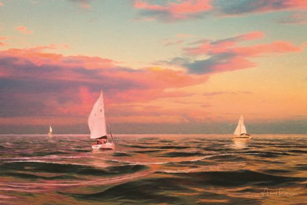 Evening Sail by Michael Petrizzo art print