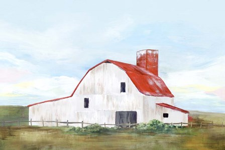 Red Barn II by Isabelle Z art print